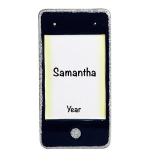 iPhone Personalized Christmas Ornament