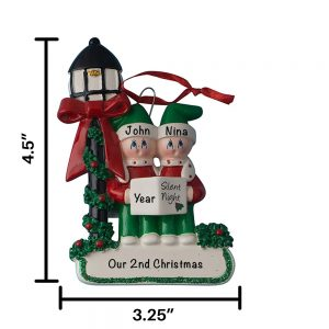Choir Family Personalized Christmas Ornament