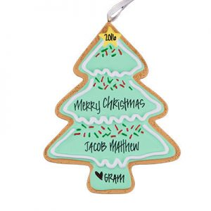 ristmas Tree Cookie Christmas Ornamament