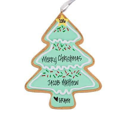ristmas Tree Cookie Christmas Ornamament