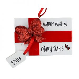 Gift Box Christmas Ornament