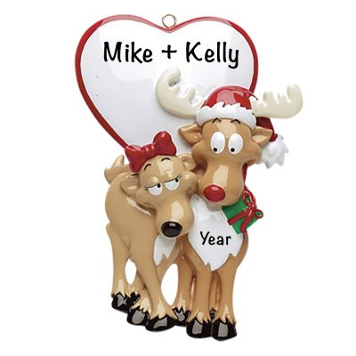 Be My Dear Personalized Christmas Ornament