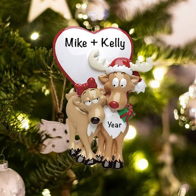 Personalized Be My Dear Christmas Ornament