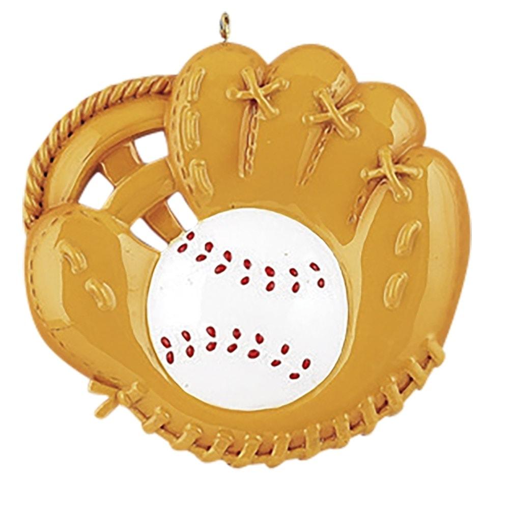 Baseball Catchers Mitt Personalized Ornament - Free ...