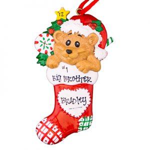 Bear In Stocking