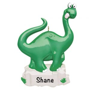 Dinosaur Personalized Christmas Ornament