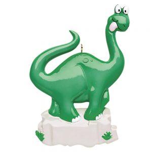 Dinosaur Personalized Christmas Ornament - Blank