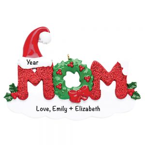 Mom Personalized Christmas Ornament