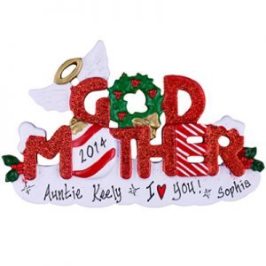 God Mother Personalized Ornament