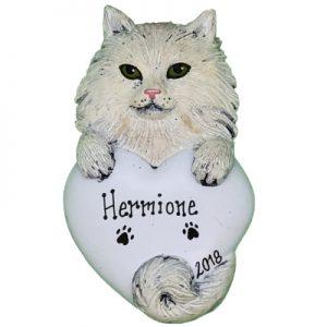 Persian Cat Personalized Ornament
