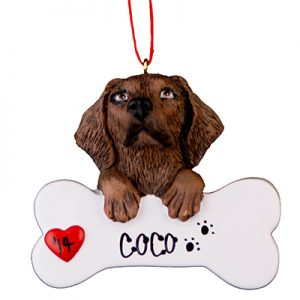 Labrador (Chocolate) Christmas Ornament