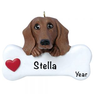 Dachshund Personalized Christmas Ornament