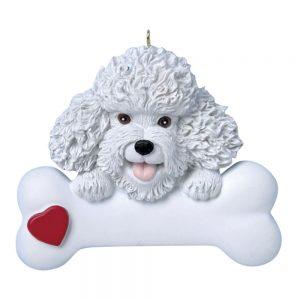 Bichon Frise Personalized Christmas Ornament - Blank
