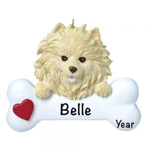 Pomeranian Personalized Christmas Ornament