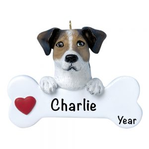 Jack Russel Personalized Christmas Ornament