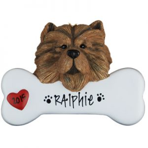 Chow Chow Personalized Ornament