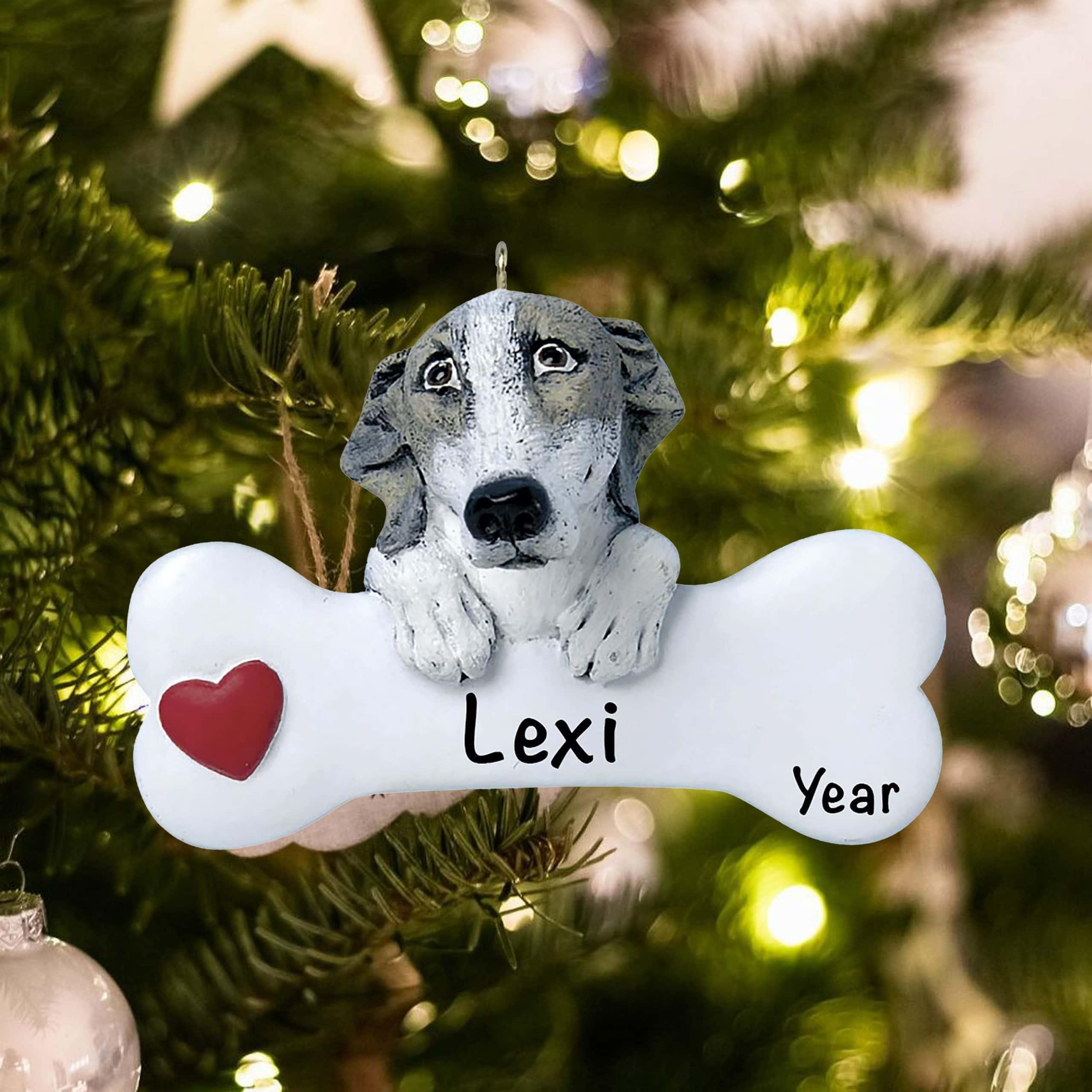 Greyhound Personalized Ornament - Free Personalization