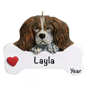 King Charles Personalized Christmas Ornament