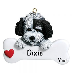 Havanese Personalized Christmas Ornament - Blank