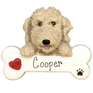 Labradoodle Personalized Ornament