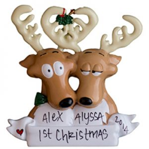 Reindeer Family of 2
