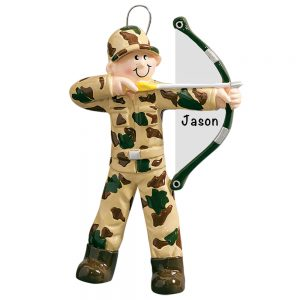 Hunting Archery Personalized Christmas Ornament