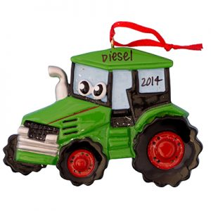 Green Tractor Toy