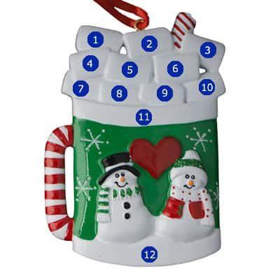 Christmas Mug Ornament
