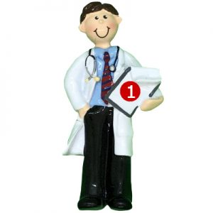 Doctor - Guy Personalized Ornament