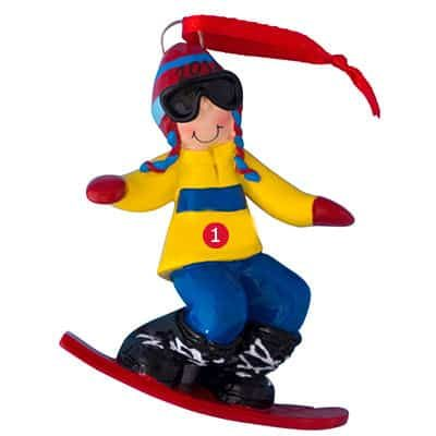 Guy Snowboarder