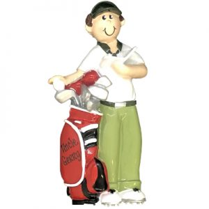 Golf Guy Personalized Ornament