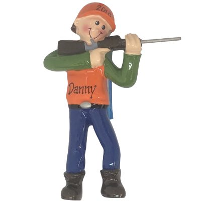 Hunter / Hunting Personalized Ornament