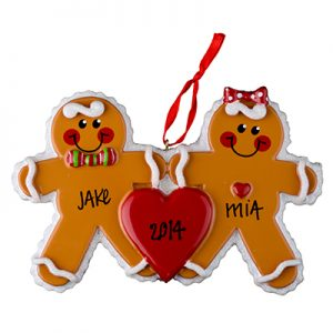 Gingerbread Men Couple