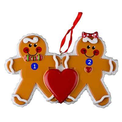 Gingerbread Men Couple