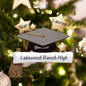 Personalized Graduation Christmas Ornament