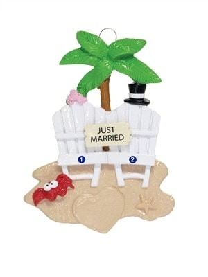 Just Married Beach