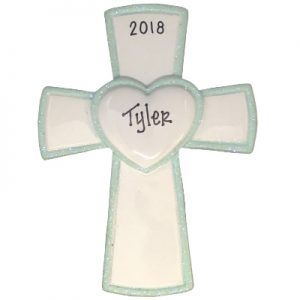Blue Cross Personalized Ornament