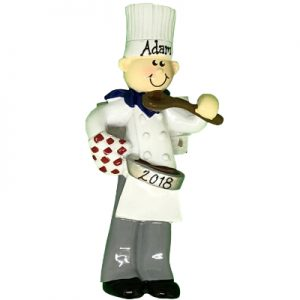 Chef Personalized Ornament