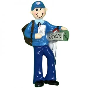 Mail Man Personalized Ornament
