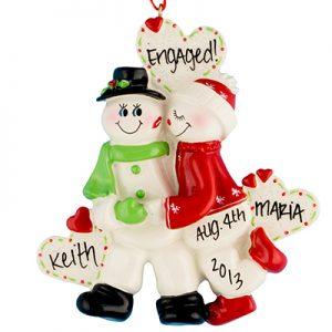 Snow Sweethearts Couple