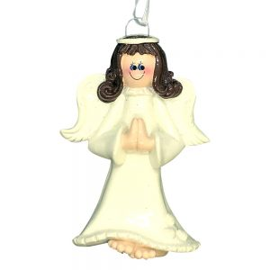 Angel Personalized Christmas Ornament Blank