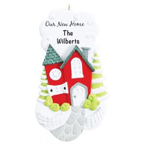 Our New Home Personalized Christmas Ornament