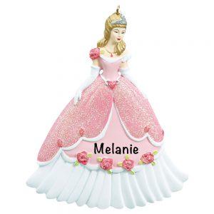 Disney Princess Personalized Christmas Ornament