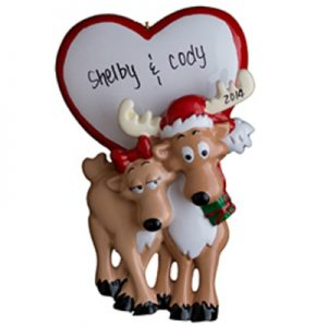 Be My Deer Personalized Ornament