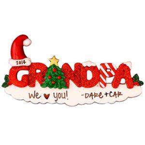 Grandpa Personalized Ornament