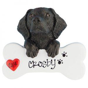 Labrador - Black Personalized Ornament