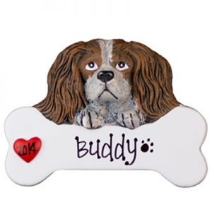 King Charles Cavalier Personalized Ornament