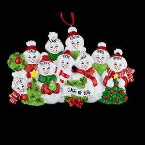 Snow Family of 9