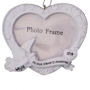 In Our Hearts Memorial Photo Frame
