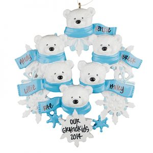 Polar Bear Family Of 6